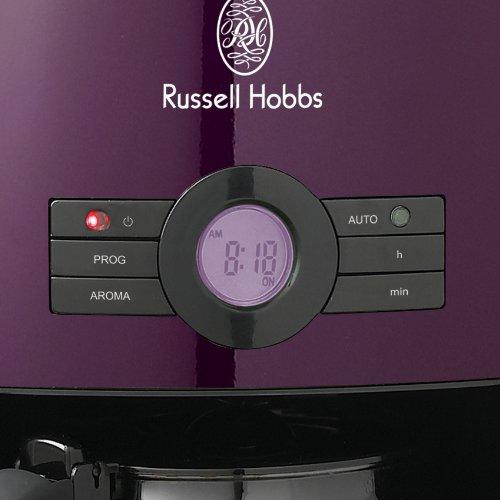 18499JP ラッセルホブス ヘリテージ コーヒーメーカー パープル [6381]
