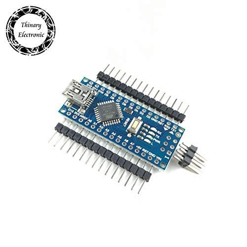 Schlussverkauf! 10 Stück/Los Nano 3.0-Controller kompatibel für Arduino-kompatiblen Nano CH340 USB-Treiber KEIN KABEL Thinary Atmega328PB