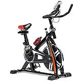 T-LoVendo TLV - BS1 Bicicleta Estatica de Spinning Bici Ejercicio Gym Casa Indoor Volante 10kg