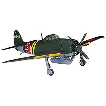 ハセガワ 1/72 日本海軍 川西 M1K2-1 局地戦闘機 紫電改 プラモデル A6
