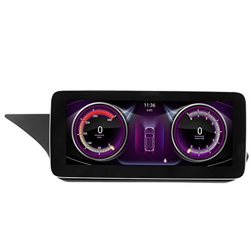 Akozon Pantalla de navegación G_P_S de 10,25 pulgadas Pantalla táctil grande Apto para Mercedes Benz W211 W212 2010-2012 LHD(Qualcomm8953)