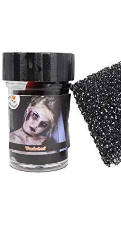 KOH Heridas y costras de sangre de 15 ml de Zombie, sangre artificial de vampiro para noches de Halloween o carnaval