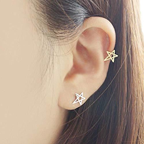 Earrings Women Studs 925 Sterling Silver Stud Earrings Women Fashion Sterling-Silver-Jewelry-Silver