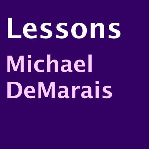 Lessons audiobook cover art
