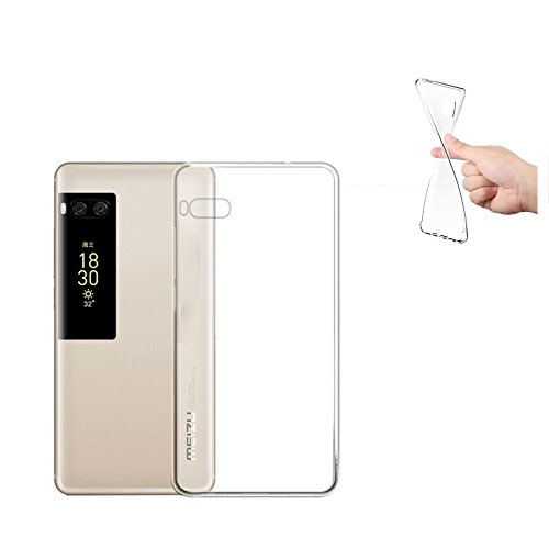 Digital Bay Cover Meizu Pro 7Plus, Cover Meizu Pro 7Plus [TPU Shock-Absorption] * * Kapseln * * Crystal Clear * * Absorption von Schlag klar TPU Tropfen Schutz, Handy Meizu Pro 7Plus