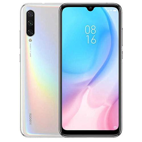Xiaomi Mi A3 128GB, 4GB RAM 6.1' 48MP AI Triple Camera LTE Factory Unlocked Smartphone (International Version) (More Than White)