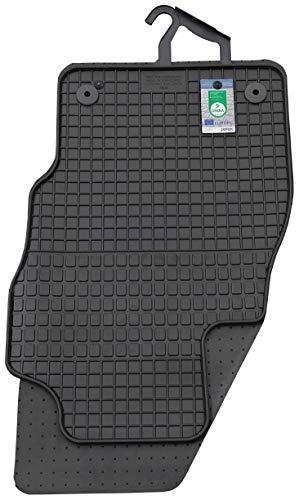PETEX Gummimatten passend für Corsa E ab 12/2014-10/2019 Fußmatten schwarz 4-teilig