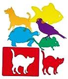 Henbea 153972 - Pets traslucent template