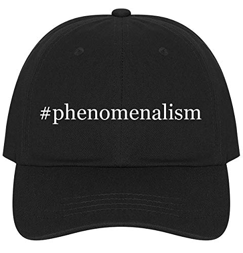 The Town Butler #Phenomenalism - A Nice Comfortable Adjustable Hashtag Dad Hat Cap, Black