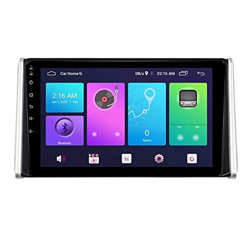 FDGBCF Estéreo de Coche Navegación GPS para Toyota RAV4 WILDLANDER 2020 Sistema de Unidad Principal SWC 4G WiFi BT Enlace de Espejo USB Carplay Integrado