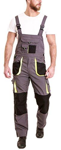 Juicy Trendz Herren Arbeitshose Latzhose Arbeitslatzhose Sicherheitshose Arbeitskleidung Berufsbekleidung Work Dungarees Overall