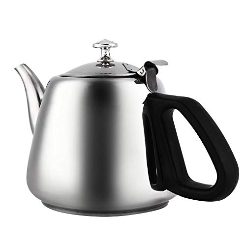 Tea kettle, rustproof minimalist portable tea infuser, for home kitchen(1.5L with filter)