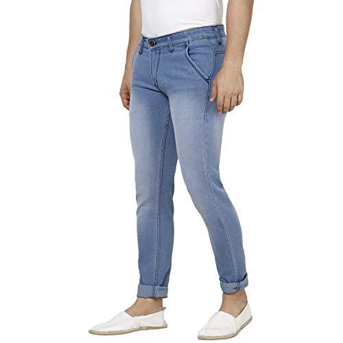 Urbano Fashion Men's Slim Fit Jeans (epssprcrs-lblue-32_Blue_32)