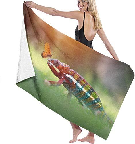 Toalla de microfibra de secado rápido de azalea store para playa, viajes, natación, piscina, camping, exterior y deportes, peso ligero (32 x 52 pulgadas)