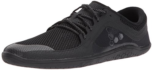 Vivobarefoot Women's Primus LITE Running Trainer Shoe, All Black, 39 D EU (8 US)
