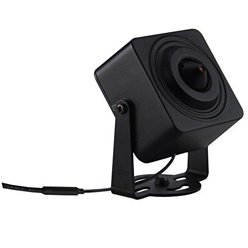 Cantonk KHKSL200W - Mini Cámara IP Wi-Fi, Full HD 1080p (2.0 Megapixel), Ángulo de visión 73°, microSD, H.265, H.264, ONVIF