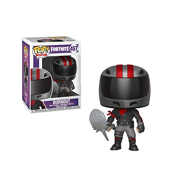 Funko Pop! Games: Fortnite - Burnout #457 Vinyl Figure 3