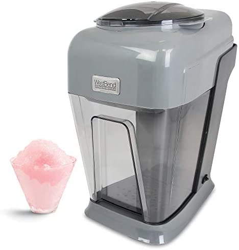 West Bend 65041 Professional Snow Ball Machine Perfect for Snow Cones Slushies and Frosty Beverages product image