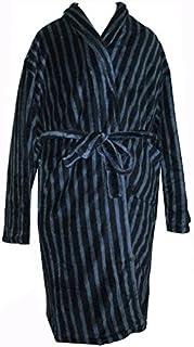 Espionage Soft Touch Fleece Gown in Navy/Blue Stripe (046) in Size 2XL to 8XL