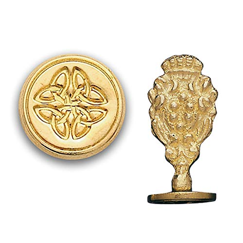 Brass Wax Seal Stamp-Celtic Knot 805H