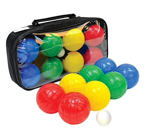 Schildköt Fun Boccia set, 4x 2 kunststof bollen, 1x doelkogel, in hersluitbare draagtas, 970009