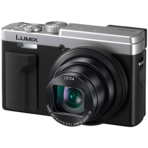 PANASONIC LUMIX ZS80 20.3MP Digital Camera, 30x 24-720mm Travel Zoom Lens, 4K Video, Optical Image Stabilizer and 3.0-inch Display – Point & Shoot Camera with Lecia Lens- DC-ZS80S (Silver)