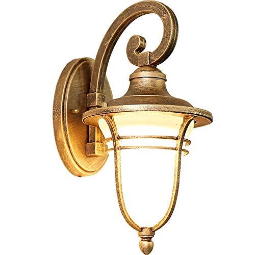 Somnrchun Halle lamp met bewegingssensor voor buiten, waterdichte wandlamp, voor tuin, tuin, restaurant, trappen, gangers