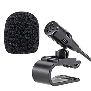 smartnavi 3,5mm Micrófono Externo Coche Reproductor de DVD Radio portátil estéreo Head unidad con 3m cable Plug and Play