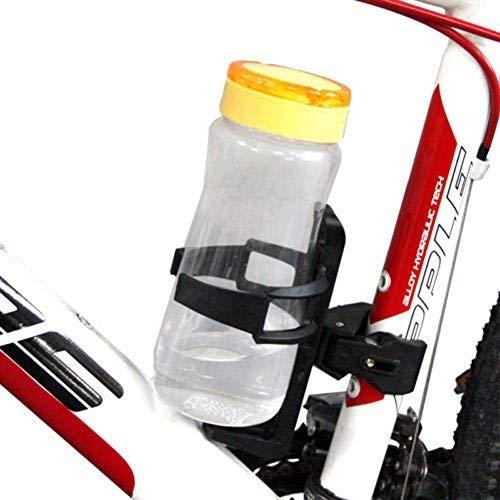 N-K Botella de agua de 2 pulgadas, soporte para bebidas, cierre rápido, para moto, bicicleta, elegante y popular