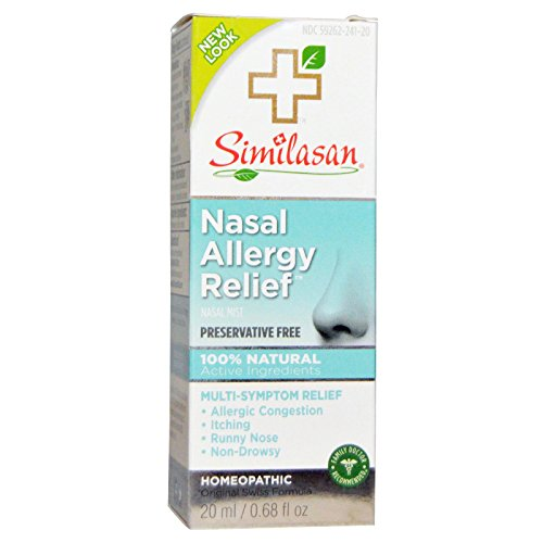 Similasan Nasal Allergy Relief, 0.68 Fl Oz
