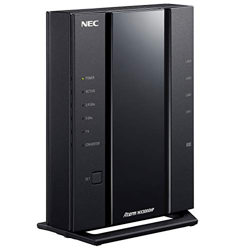 NEC 無線LAN Wi-Fi ルーター Wi-Fi 6(11ax)/AX3000 Atermシリーズ 2ストリーム (5GHz帯 / 2.4GHz帯) AM-AX3...
