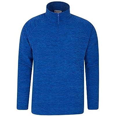Mountain Warehouse Snowdon Mens Fleece Pullover Winter Sweater