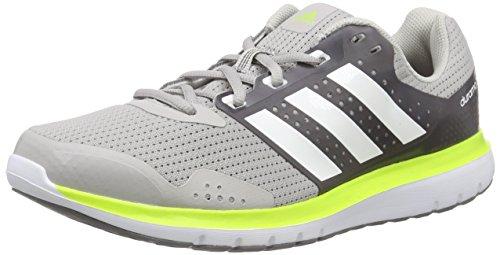 Adidas Duramo 7 M Scarpe da corsa, Uomo, Grigio (Grau (Clear Granite/Ftwr White/Semi Solar Slime)), 41 1/3