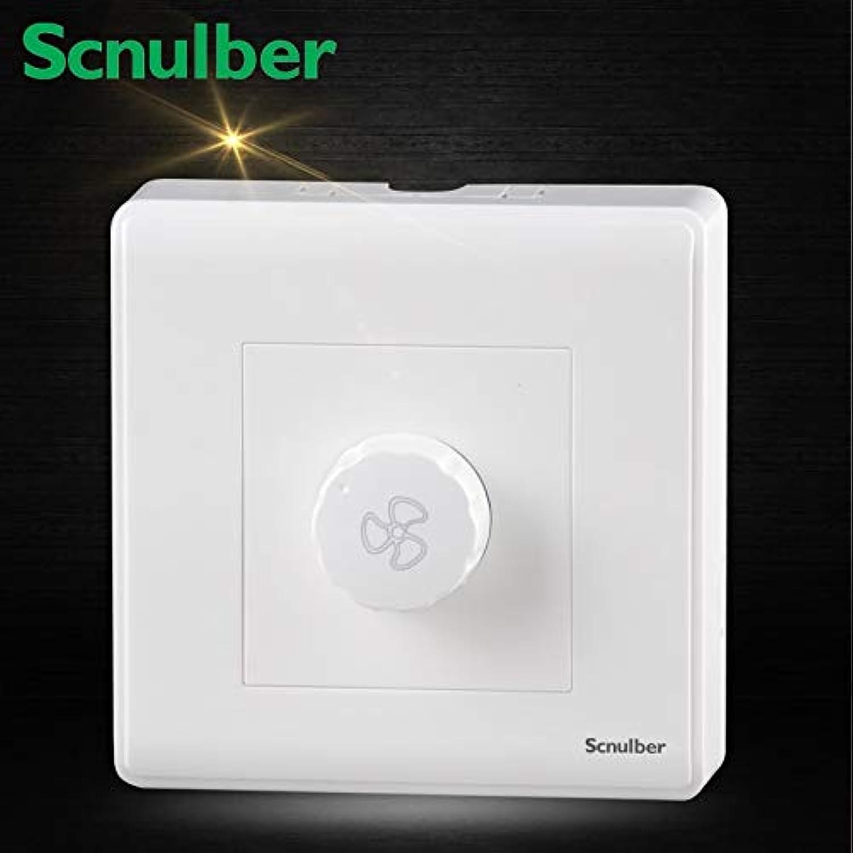 Single Surface Type Bronze Dimmer Wall Fan Regulator Switch