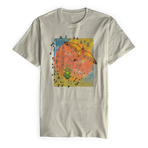 Habitat Skateboards Standard Rush Hour T-Shirt, Natur, XL