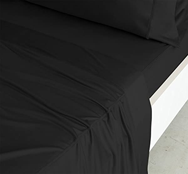 SHEEX Luxury Copper Sheet Set With 2 Pillowcases PRO Ionic Copper Fabric Black Queen