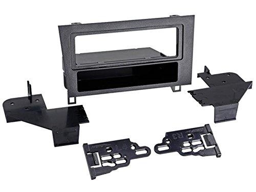 1-DIN radiopaneel met opbergvak Lexus GS, zwart