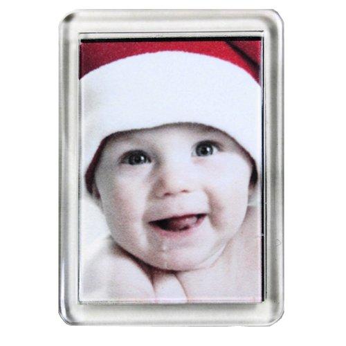 PC3721 @ Aimant pour réfrigérateur à Photos Transparent (10 pièces, 50x35mm)