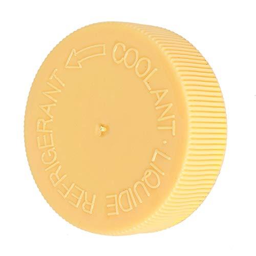 Koelmiddel-overlooptankdeksel, autokoelmiddel-overlooptankdeksel koeltankdeksel kap van de overloopcontainer 21712-50M01 voor SENTRA 1990-2012 geel