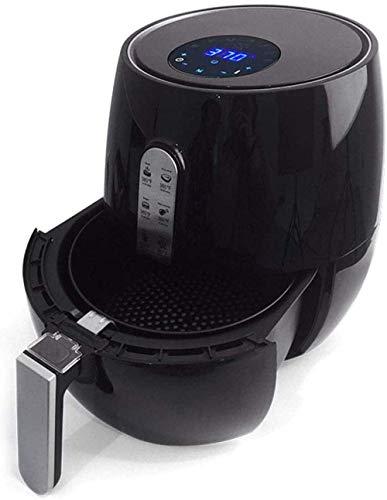 Elektronische digitale hete lucht Fryer Oven Oil-Free pan 5.2L 1350W met verwisselbare Non-Stick Basket temperatuur en tijd Control and Fast luchtcirculatie HAOSHUAI