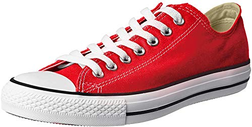 Converse Chuck Taylor All Star Ox, Zapatillas Unisex Adulto, Rojo Tango Red 9696, 38 EU