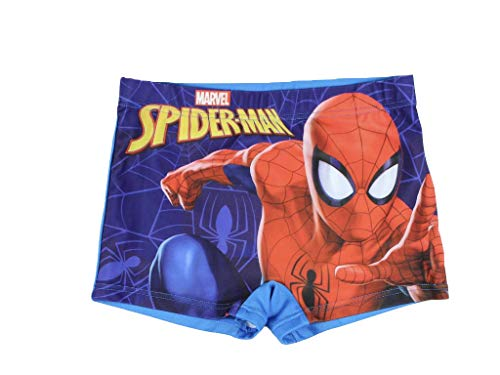 Spiderman Badeboxer (104/110, blau)