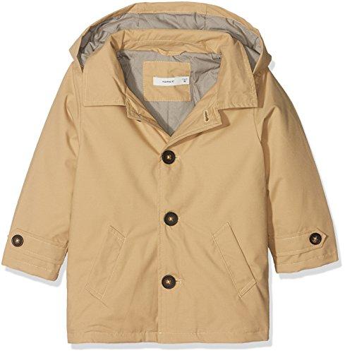 Name It Nmmmikkel Trench Coat Giacca, Beige (Warm Sand Warm Sand), 92 Bimbo