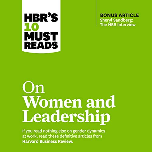HBR's 10 Must Reads on Women and Leadership Titelbild