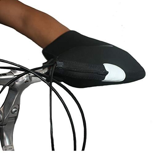 Wanders VOGEL stuurhandschoenen stuurmanchetten waterafstotend stuur handschoenen winter fleece zwart
