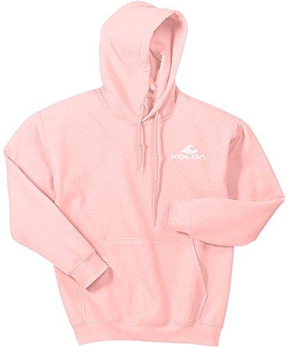 Koloa Classic 2 Side Wave Logo Hoodies-Hooded Sweatshirt-Light.Pink-4XL