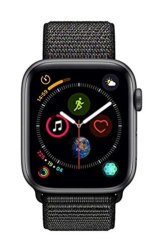 Apple Watch Series 4 (GPS, 44mm) - Space Gray Aluminum Case with Black Sport Loop 3