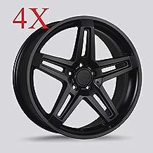 Drag DR-74 Wheels 20X9 5x130 Matte Black Rims