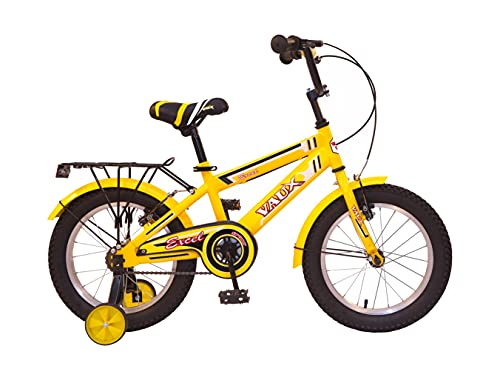 Vaux Excel Kids Bicycle for Boys (16T, Yellow)