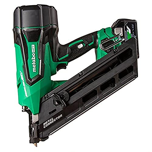 Metabo HPT 36V MultiVolt Cordless Metal Connector Nailer   Includes Battery and Charger   NR3665DA
